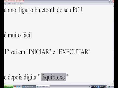 Como Ligar Bluetooth Do Seu Pc Youtube
