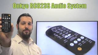 ONKYO RC823S Audio System Remote Control - www.ReplacementRemotes.com