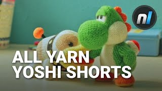 ALL Yarn Yoshi Shorts | Poochy & Yoshi's Woolly World Short Movies