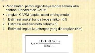 Biaya modal (video 2 dari 3)