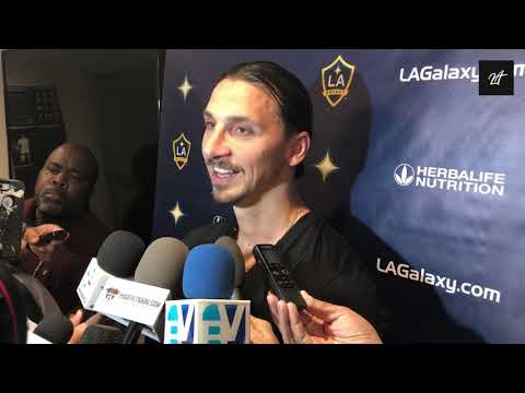 Post-Game Interview LAvSEA: Zlatan Ibrahimovic on Draw Against Seattle
