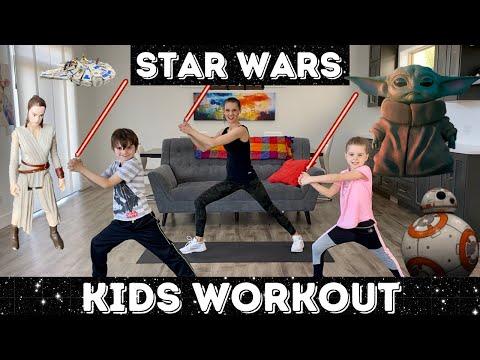 Kids Workout Star Wars Workout / Jedi Training
