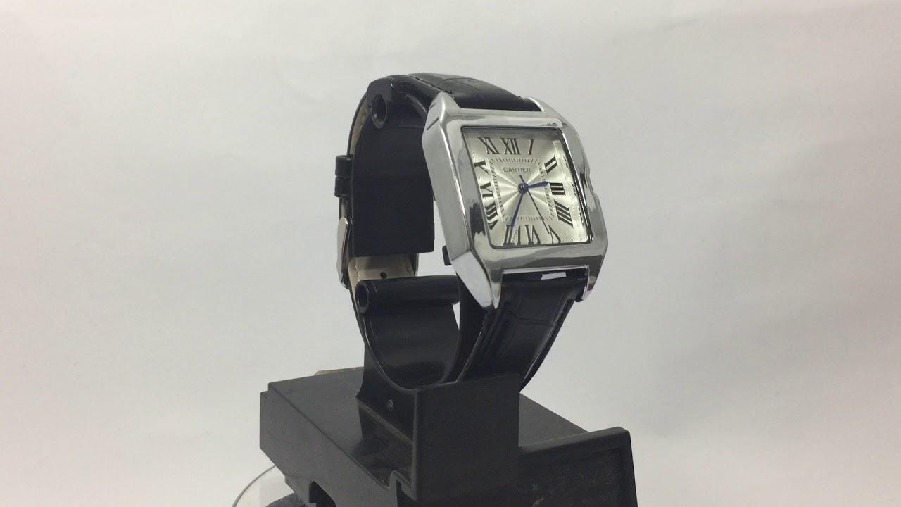 e89c20b972a Relógio Cartier Santos 100 Promoção Frete Grátis até 12x sem juros ...