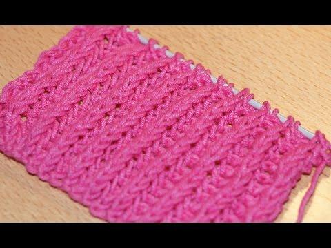 Вязание спицами. Схема вязания