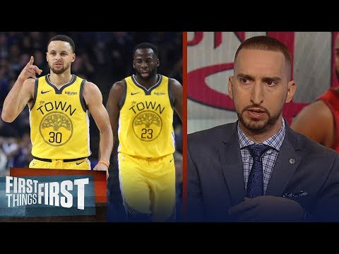 Nick Wright disagrees tonight's Warriors vs. Rockets is a statement game | NBA | FIRST THINGS FIRST