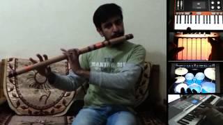 Tu Hai Ki Nahi Roy Cover Instrumental | Bansuri Flute | Keyboard | iPad Garage Band |
