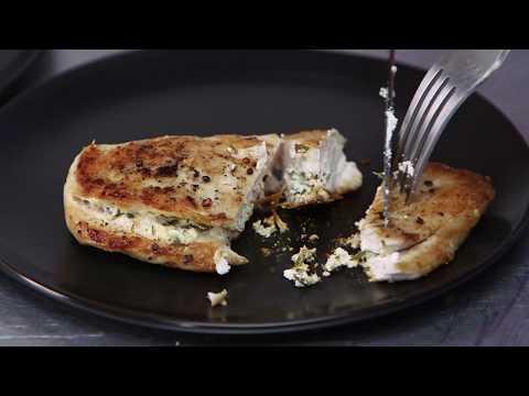 Goat Cheese Stuffed Chicken | Cooking Light
