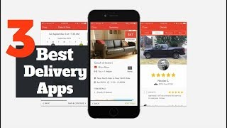 Top 3 Best Delivery Apps for Android of 2018