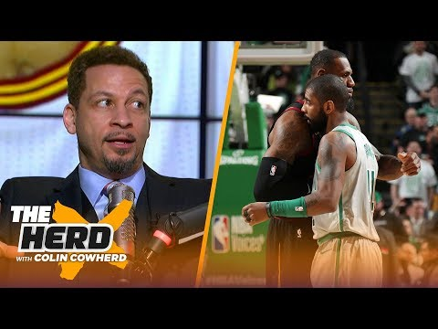 Chris Broussard doesnt rule out a Kyrie-LeBron reunion, talks NBA leadership void | NBA | THE HERD