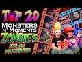 Top 20 Spooky Monsters N' Moments in Zombies Ate My Neighbors | Darkology #9