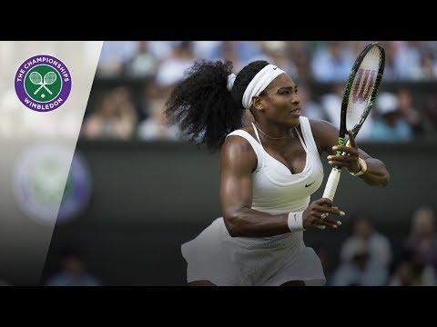 Serena Williams vs Heather Watson: Wimbledon third round 2015  Highlights