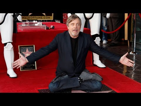 Mark Hamill - Hollywood Walk of Fame Ceremony - Full Speech