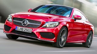 Mercedes C Class Coupé 2016 First TV Commercial New Mercedes C Class Coupé CARJAM