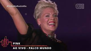 """PINK """"Rock In Rio"""" 2019 (Entire Show)"""