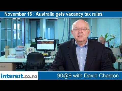90 seconds @ 9am : Australia gets vacancy tax rules