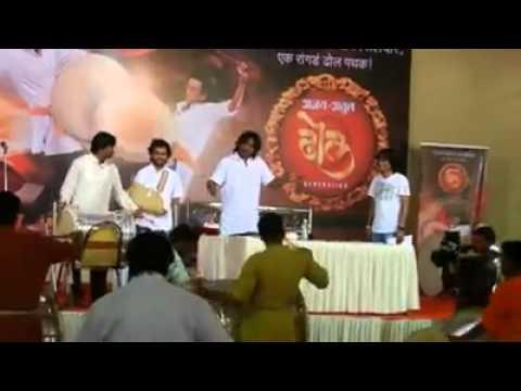 Ajay atul dhol genration final round performance by Shrikant D Salve