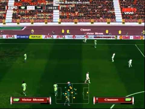 PES6 Greece World Cup 2014 Qualifiers - Nigeria vs South Africa