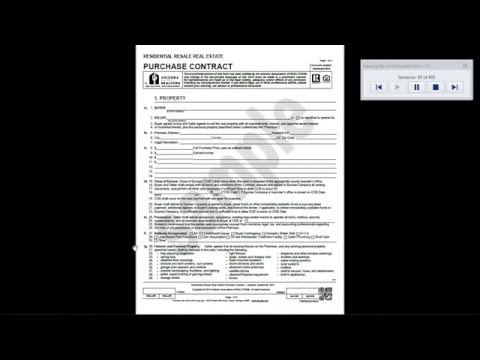 Purchase Contract 2015 (sample) - audio