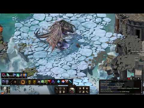 Poe Deadfire TCS level scaling all upscaled - Gold Pact/Nalpazca Beast of Winter Neriscyrlas |