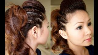 Hair Tutorial: Chic Party Half Updo