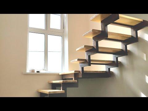 Межэтажная лестница для частного дома своими руками