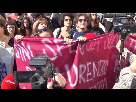 Desirée, Salvini a San Lorenzo divide il quartiere: urla e accuse fra opposte fazioni