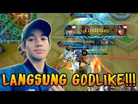 SETELAH BERGURU SAMA TOP 1 ZILONG, LANGSUNG GODLIKE MAIN ZILONGNYA :D | MOBILE LEGENDS INDONESIA