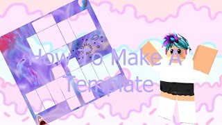 Roblox How To Make a Custom Clothing Template 2016 || Moonfall