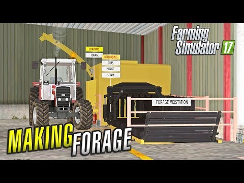 Farming Simulator 2017 | MAKING FORAGE | Ballymoon Castle | Episode 14