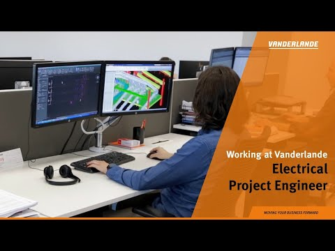 Working as an Electrical Project Engineer at Vanderlande