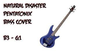 Natural Disaster Pentatonix Bass cover B3 - G1
