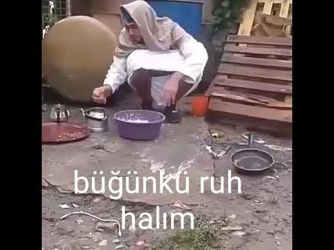 Bugünkü ruh halim (komik video)