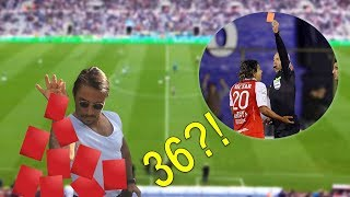 Most Red Cards In Football Game ● WORLD RECORD