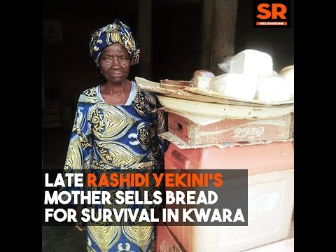 Late Rashidi Yekini's Lawyer Lied, Mother Sells Bread To Survive