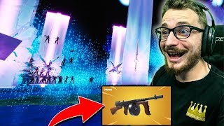 The volcano explodes the entire map of fortnite! Return of the drum gun... CHEATEd!!
