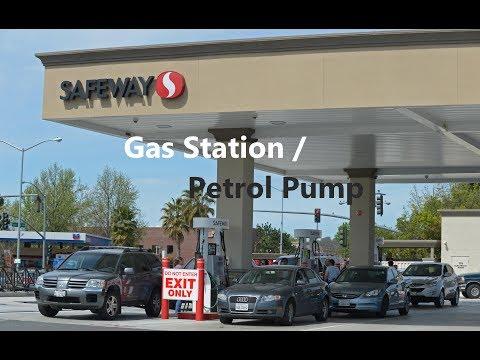 Petrol pump in USA