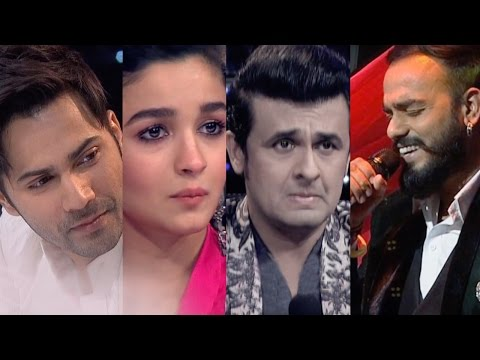 Indian Idol 9 | Episode 22 | Varun, Alia, Sonu Nigam cry after Mohit Chopra's performance