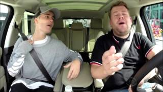 justin bieber sing alanis morissettes ironic with james corden