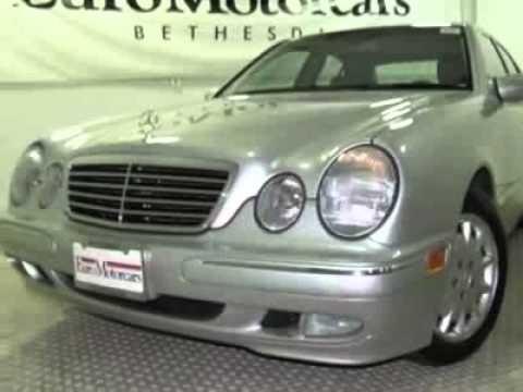 2000 mercedes benz e class e320 sedan bethesda md youtube for Mercedes benz bethesda md