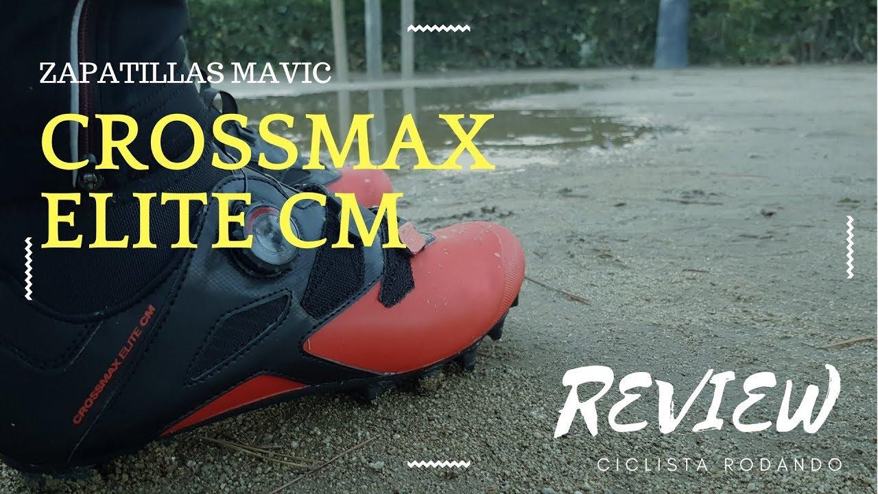 83a179f5415 MAVIC CROSSMAX ELITE CM - Zapatillas para ir en bici con barro Y lluvia  Review