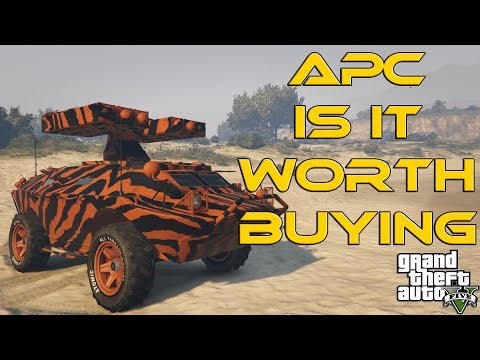 APC GUN RUNNING DLC : IS IT WORTH BUYING ? (GTA5)