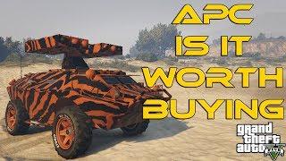 APC GUN RUNNING DLC : IS IT WORTH BUYING ? (GTA5)