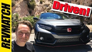 2017 Honda Civic Type R Is AWESOME!  Driving Impressions
