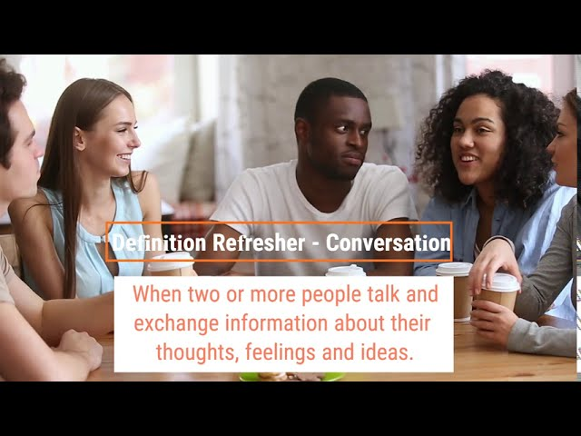 Conversations, Nodversations and Nonversations!
