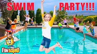 Fun in the Sun Pool Games with the Fun Squad Family!