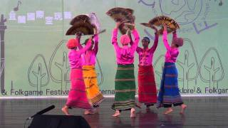 (Melengas Dance Ensemble) Philippines folkdance-Fan dance