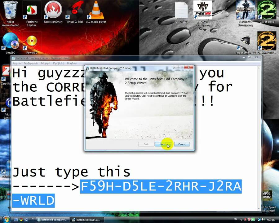 Battlefield bad company 2 serial key generator pc