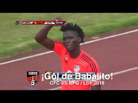 ¡Gol de Babalito!   Moca FC vs Cibao FC   LDF 2018