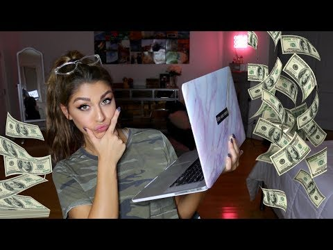 Online Shopping While High (PART 1) | Andrea Russett