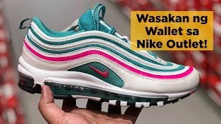 WASAKAN NG WALLET SA NIKE OUTLET STA ROSA LAGUNA & SLEX! (+Lessons in Sneaker Outlet Shopping)